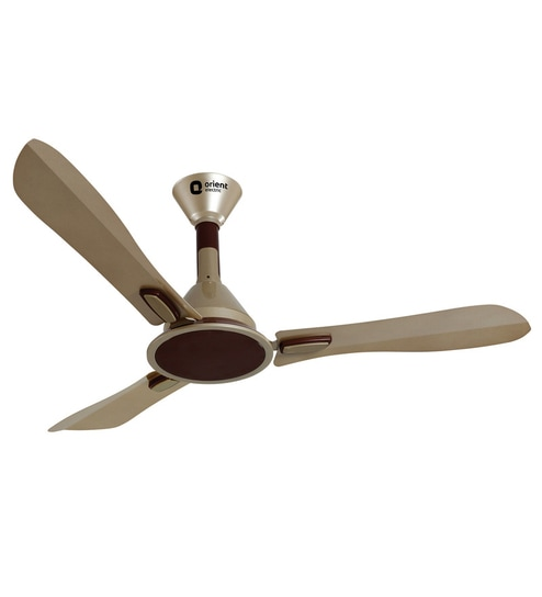 Buy orient areta golden beige coffee 1200mm designer ceiling fan orient areta golden beige coffee 1200mm designer ceiling fan aloadofball