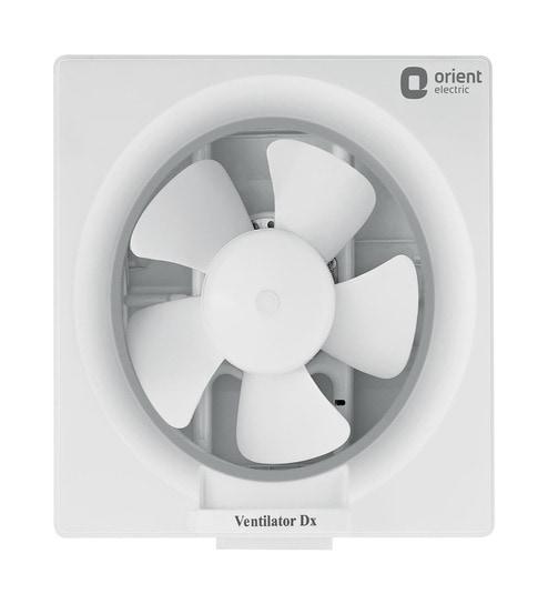 Deluxe 200 mm White Exhaust Fan by Orient