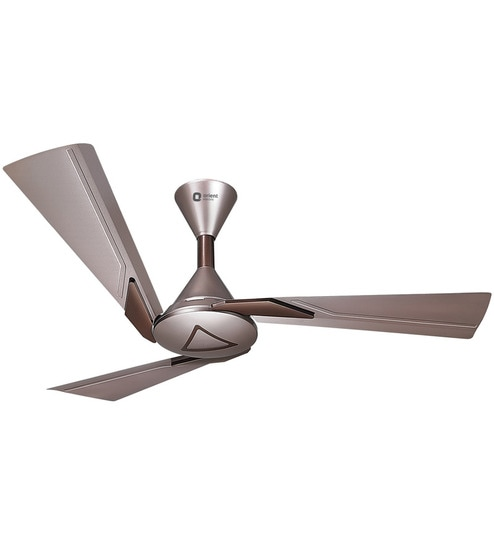 Buy Orina 1200 Mm Copper Amp Brown Ceiling Fan By Orient