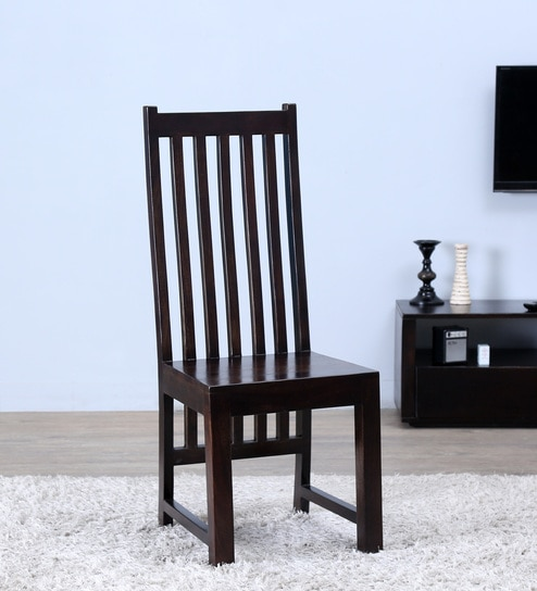 Oroville Dining Chair In Warm Chestnut Finish By Woodsworth