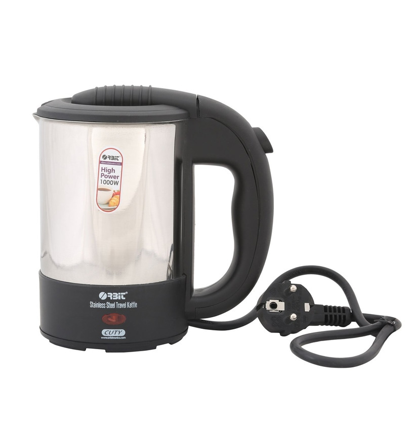 Orbit Cuty Black 0.5 L Travel Kettle