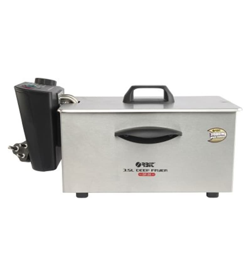 Orbit 3.5 L 2000W Electric Deep Fryer (Model No: Df30)