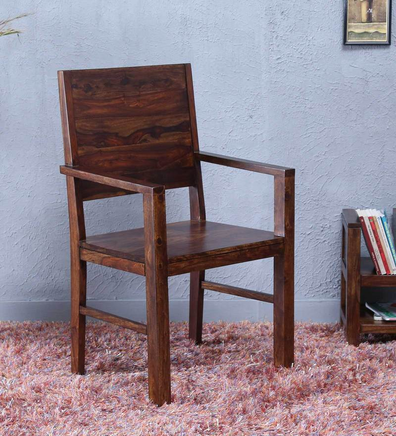 Oriel Arm Chair in Provincial Teak Finish by Woodsworth