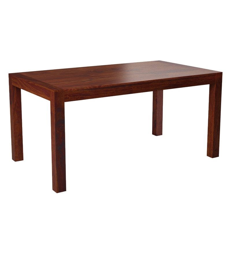 Classic Modular Kitchen Cabinets Rs 18000 Piece: Buy Oriel Solid Wood Six Seater Dining Table In Honey Oak