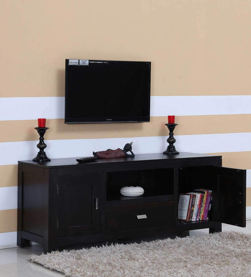 Oriel Two Door  Entertainment Unit in Warm Chestnut Finish by Woodsworth