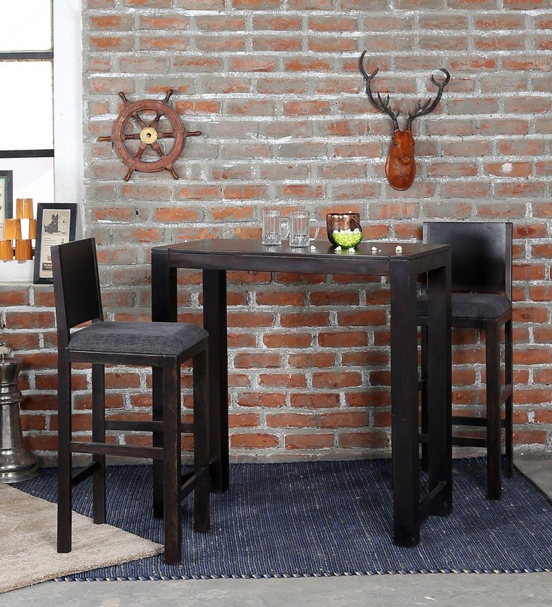 Oriel Two Seater Bar Set in Warm Chestnut Finish by Woodsworth