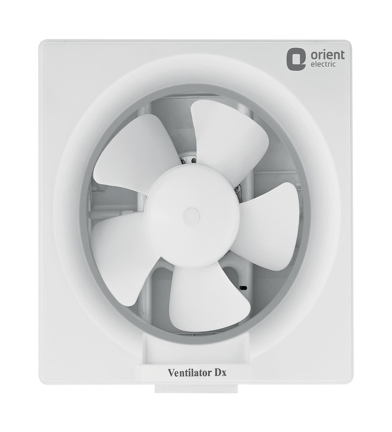 Orient Deluxe White 8 Inch 200 MM White Exhaust Fan