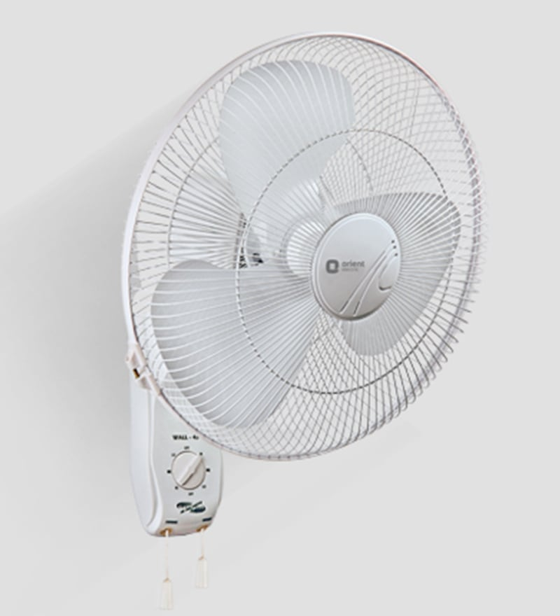 Buy Orient Wall 45 400 Mm White Wall Mounted Fan Online