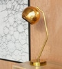 Golden-colored Iron Dew Study Table Lamp by Orange Tree