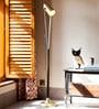 Gold Iron Grammy Floor Lamp by Orange Tree