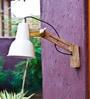 Ivory Iron Auro Wall Lamp by Orange Tree