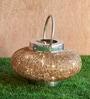 Orange Tree Gold Iron Festive Lantern