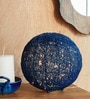 Blue Iron Table Lamp by Orange Tree