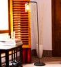 Transparent Glass Pelle Floor Lamp by Orange Tree