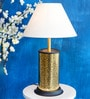 Orange Tree White De Cotton Pratt Table Lamp