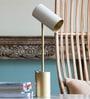 White Iron Midas Table Lamp by Orange Tree