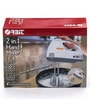 ORBIT ABS Plastic Body 150 Watt 2 In 1 Hand Mixer (White)