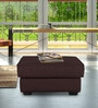 Oritz Ottoman in Chestnut Brown Colour by CasaCraft