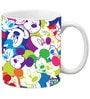 Licensed Mickey Faces Digital Printed Coffee Mug