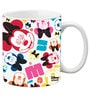 Licensed Minnie Faces Digital Printed Coffee Mug