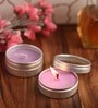 Lavender Aromatic Travel Tin Candle - Set of 4 by Orlando's Decor