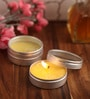Orlando's Decor Lemongrass Aromatic Travel Tin Candle - Set of 4