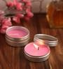 Orlando's Decor Rose Aromatic Travel Tin Candles - Set of 2