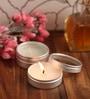 Orlando's Decor Vanilla Aromatic Travel Tin Candle - Set of 4