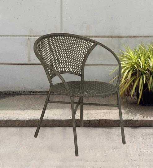 Wondrous Outdoor Metal Chair In Black Colour By Ventura Frankydiablos Diy Chair Ideas Frankydiabloscom