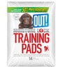 ABK Imports Out! Moistur Lock Training Pads 14 Pad Pack