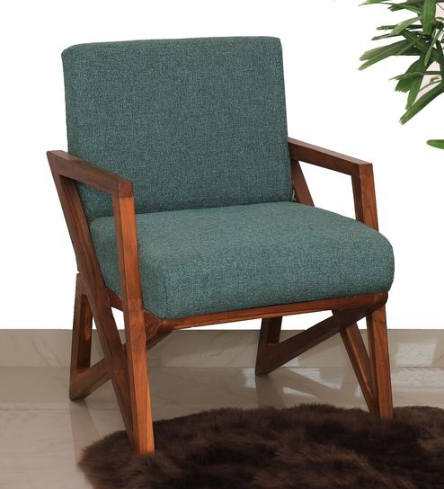 Pleasant Owen Solid Wood Arm Chair In Teak Finish By Make Home Happy Andrewgaddart Wooden Chair Designs For Living Room Andrewgaddartcom
