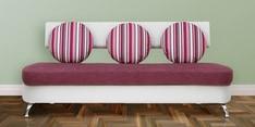 Oxford Three Seater Sofa in Magenta Colour