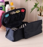 Fabric Blue Travel Innerwear Organiser