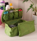 Fabric Green Travel Innerwear Organiser