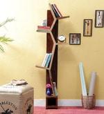 Presley Book Shelf in Dual Tone Finish