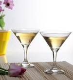 Pasabahce 190 ML Martini Stemware Wine Glasses - Set of 6