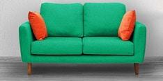 Panache Two Seater Sofa in Aqua Blue Colour