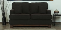 Parana Two Seater Sofa in Chestnut Brown Color