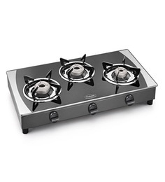Padmini 4 GT Prima Crystal Black Gas Stove at pepperfry