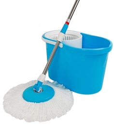 Paffy 360 Degree Magic Blue Spin Mop Set