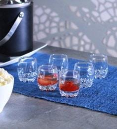 Pasabahce Sylvana Glass 80 ML Shot Glasses - Set Of 6