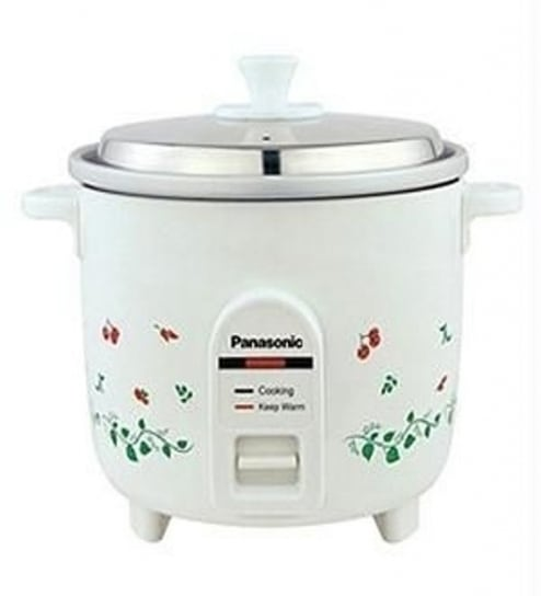panasonic sr wa 18 h 4 4l electric cooker white by panasonic rh pepperfry com Small 2 Cup Rice Cooker Panasonic Rice Cooker Cup 3