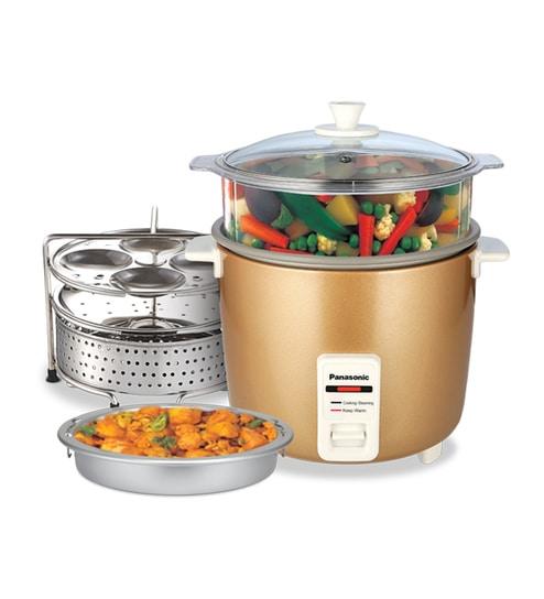 buy panasonic 2 2l electric rice cooker online electric cookers rh pepperfry com Panasonic DMR ES40V Manual Panasonic Manuals Servo Motors