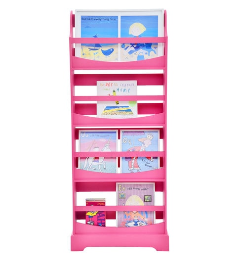 Wondrous Paperback Large Book Rack In Fuchsia Pink By Warehouse Junior Download Free Architecture Designs Embacsunscenecom