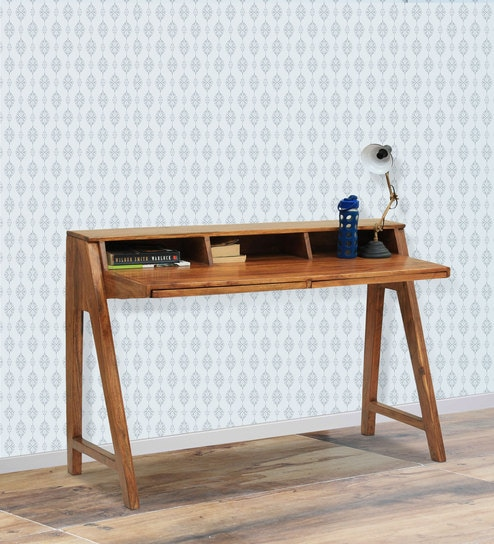 contemporary study furniture. Parma Study Table In Light Walnut Finish By The ArmChair Contemporary Furniture F
