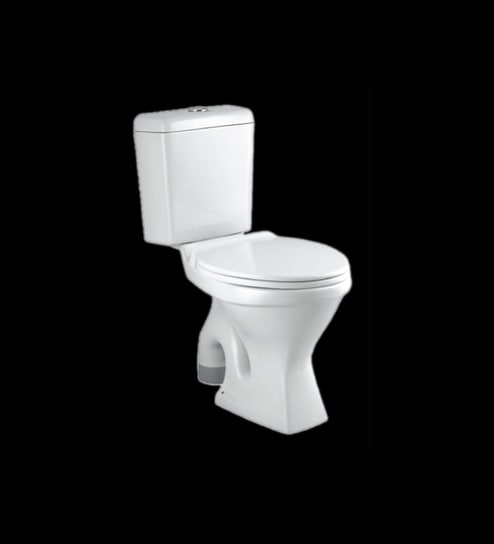 Buy Parryware Indus White Ceramic Floor Mounted Coupled