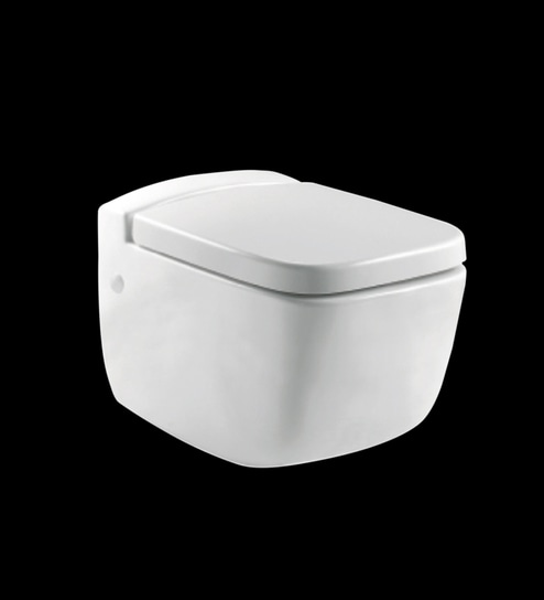 Parryware Pal White Ceramic Wall Hung Water Closet