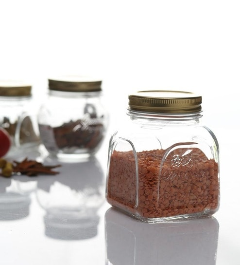 Pasabahce Homemade Jar With Metal Cover 500 Ml - Set of 3