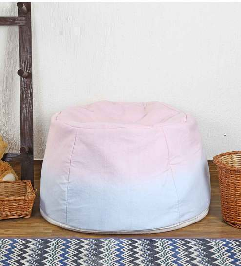 Superb Pastel Ombre Filled Bean Bag By My Gift Booth Machost Co Dining Chair Design Ideas Machostcouk
