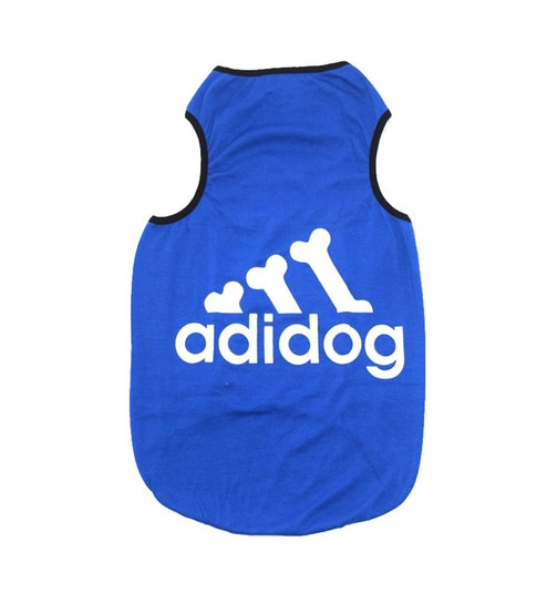 adcacdae095 Buy Pawzone Adidog Printed Blue Size 24 T-shirt Online - Clothes ...